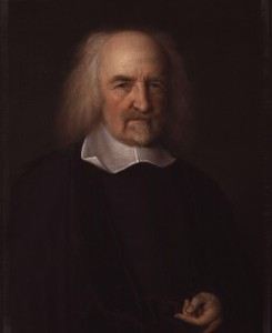 Thomas Hobbes by John Michael Wright