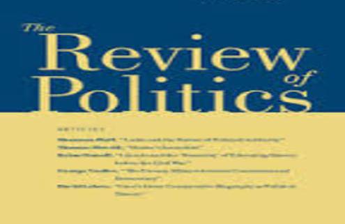 Review of politics