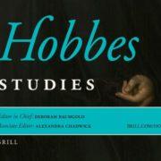 Hobbes Studies Cover