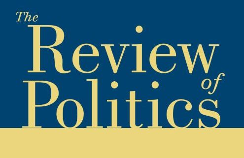 Review of Politics cover